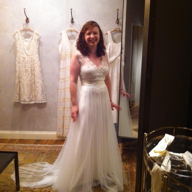 Wedding Wednesday: I got my dress, ya\'ll! | Compare Shops