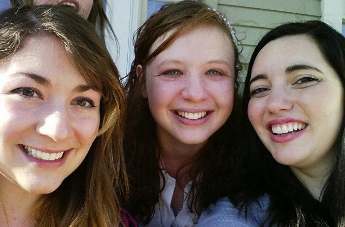 Miriam, Becca, and I